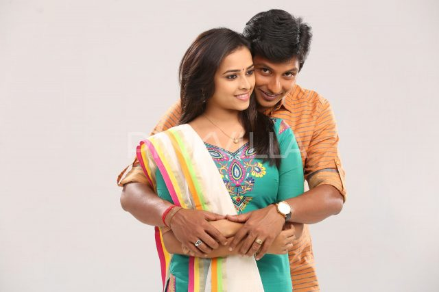Actor Jiiva and Sri Divya