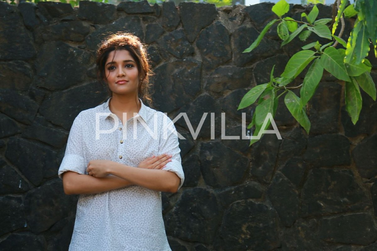Ritika Singh at the Press Meet