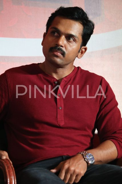 Karthi at the event