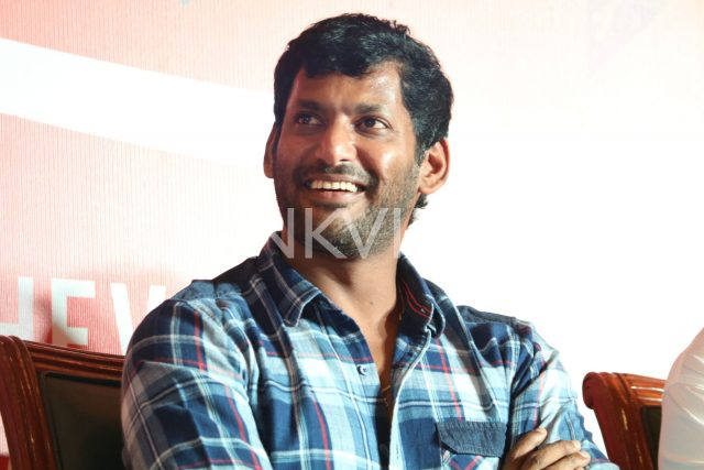 Actor Vishal's inspiration for entering politics are Arvind Kejriwal and APJ Abdul Kalam