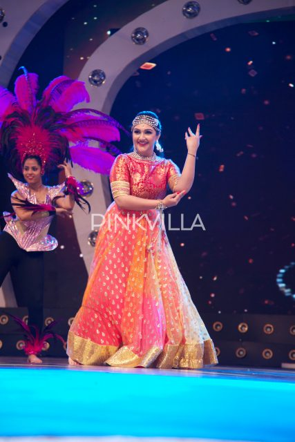Actress Sridevi performs at the event