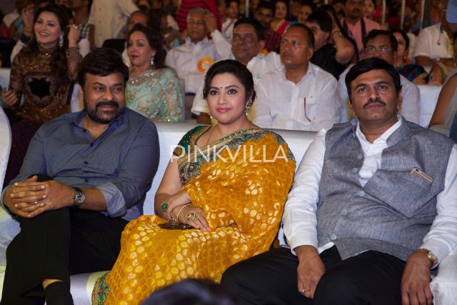Chiranjeevi and Actress Meena at the event