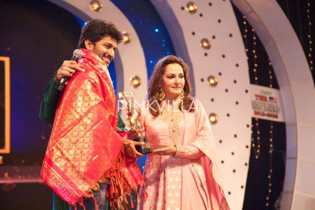 Nani felicitated by Jayaprada