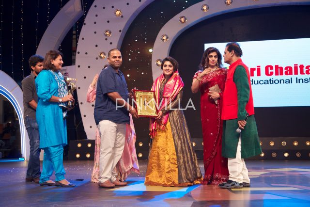 Actress Nivetha Thomas felicitated