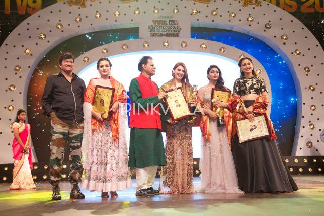 Rajendra Prasad, Catherine Tresa, TSR, Hansika, Shriya Saran and Pragya Jaiswal