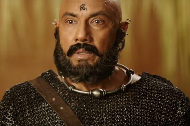 Sathyaraj as Kattappa