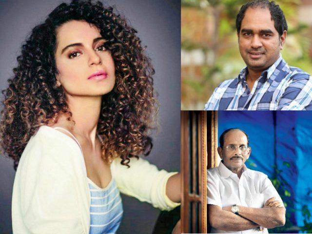 Kangana Ranaut, Director Krish and Vijayendra Prasad team upfor biopic of Rani Jhansi
