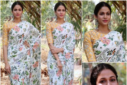 LavanyaTripathi in a Payal Singhal designed dress