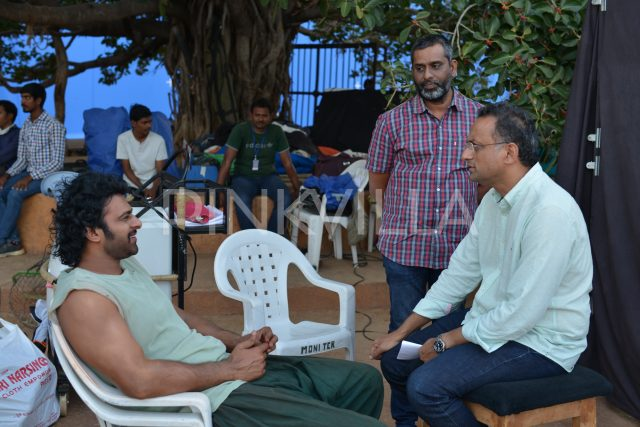 Prabhas and Shobhu Yarlagadda