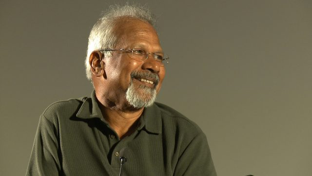 Mani Ratnam during one of the interviews