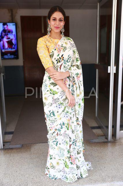 Lavanya Tripathi posing for the cameras