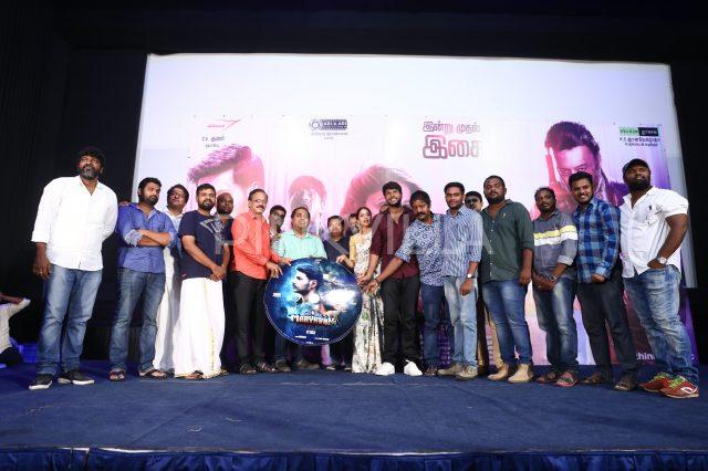 The cast and crew unveil the audio tracks of Maayavan