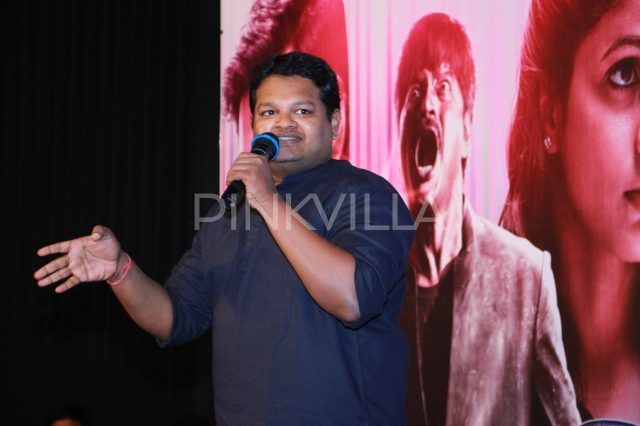 Music Composer Ghibran saying a few words