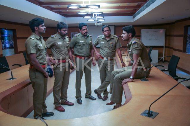 Sundeep Kishan with his co-actors