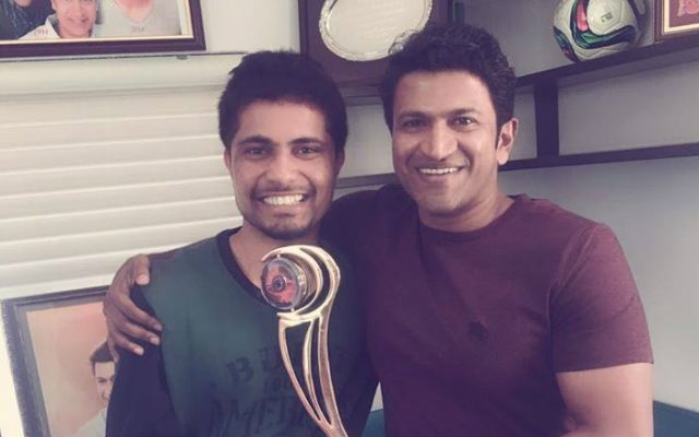 Big Boss Winner Pratham with Puneet Rajkumar