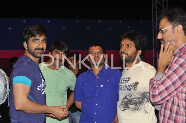Ravi Teja, Anil Ravipudi and Sirish on sets