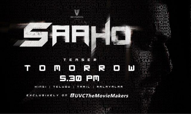 Saaho Teaser update