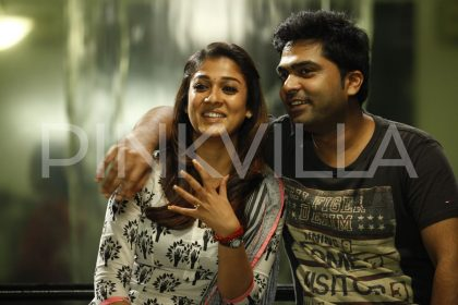 Simbu and Nayanthara in Sarasudu