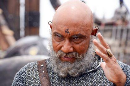 Sathyaraj as Kattappa in Baahubali