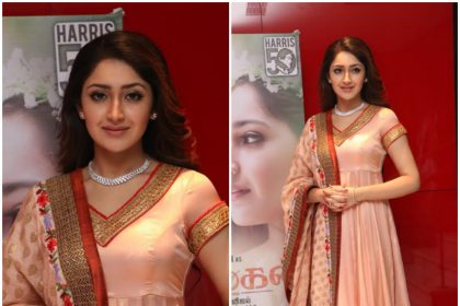Sayyeshaa Saigal at the audio launch of Vanamagan