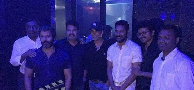 Shankar, Vikram, Vijay, Akshay and Prabhu Deva