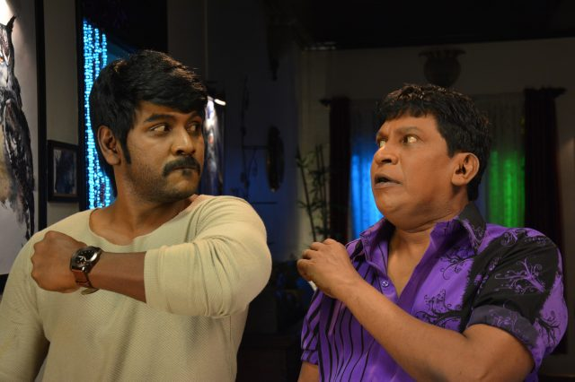 Lawrence and Vadivelu in Shivalinga
