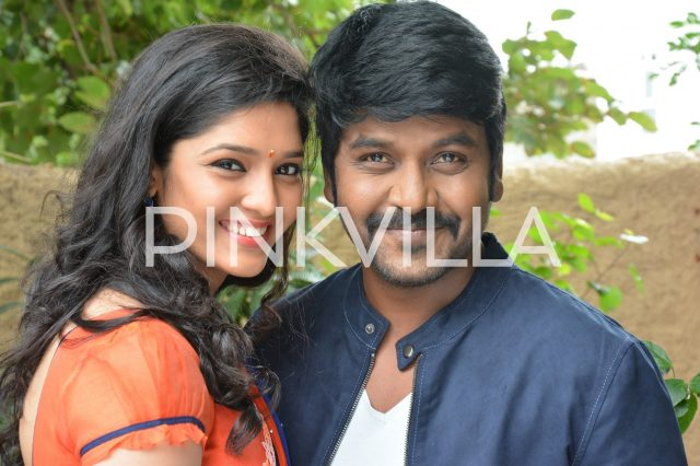 Ritika Singh and Lawrence in a scene from Sivalinga