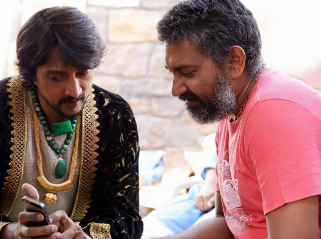 Sudeep and Rajamouli