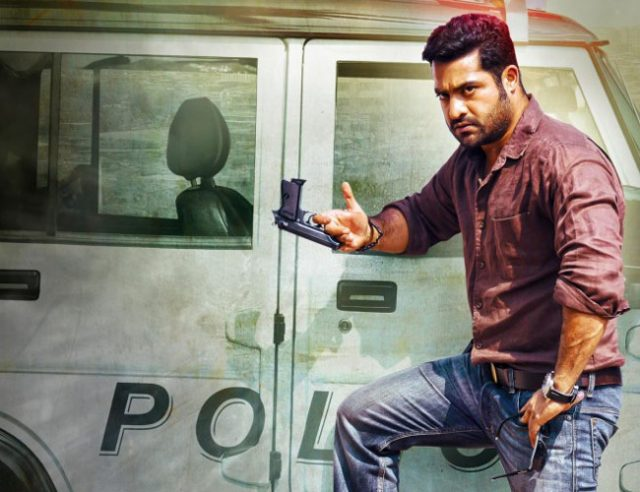 Jr NTR in Temper
