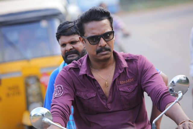 Samuthirakani and Ganja Karuppu in Thondan