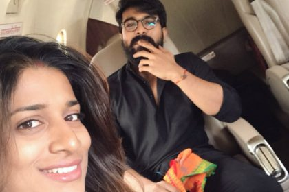 Sushmita Konidela and Ram Charan in #RC11