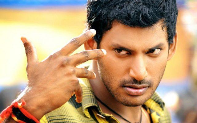 Actor Vishal