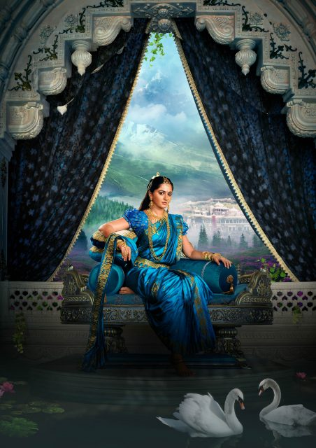 Anushka Shetty as Devasena in Baahubali 2