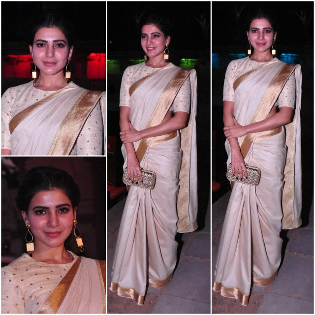 Samantha in a Shilpa Reddy design