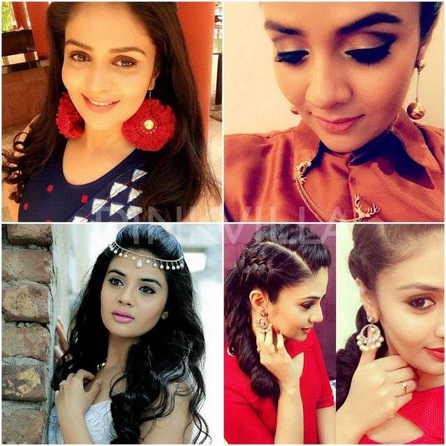 Sreemukhi attitudinizing in her accessories