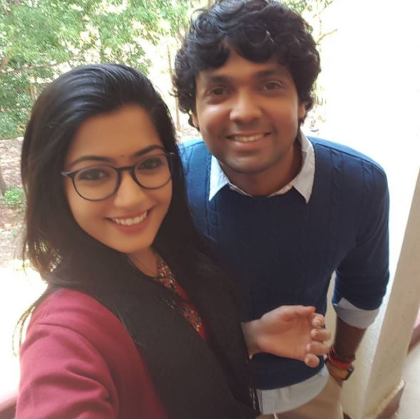 Photobook: These photos of Rakshit Shetty and Rashmika Mandanna are highest degree of cuteness