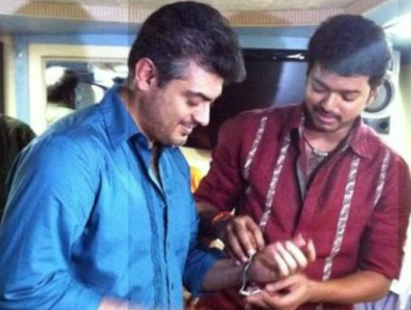 Top photos of Thala Ajith and Ilayathalapthy Vijay that are testimonial to their affinity
