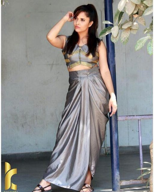 Yay or Nay: Anasuya Bharadwaj in Duta Couture