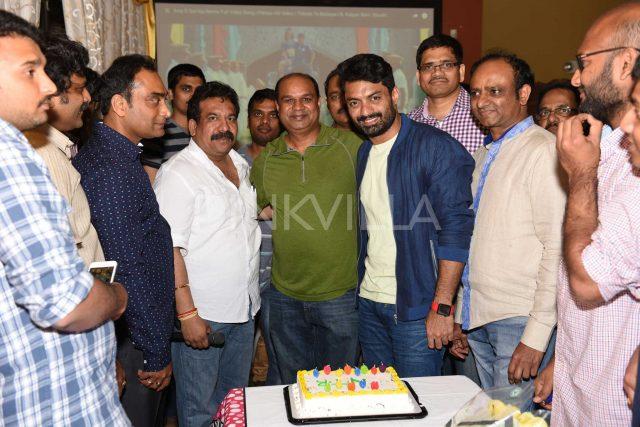 Nandamuri Kalyanram gets a resplendent reception from Telugu community in the US
