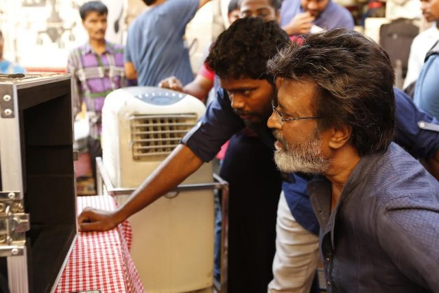 Photos: Rajinikanth starts shooting for Kaala Karikaalan