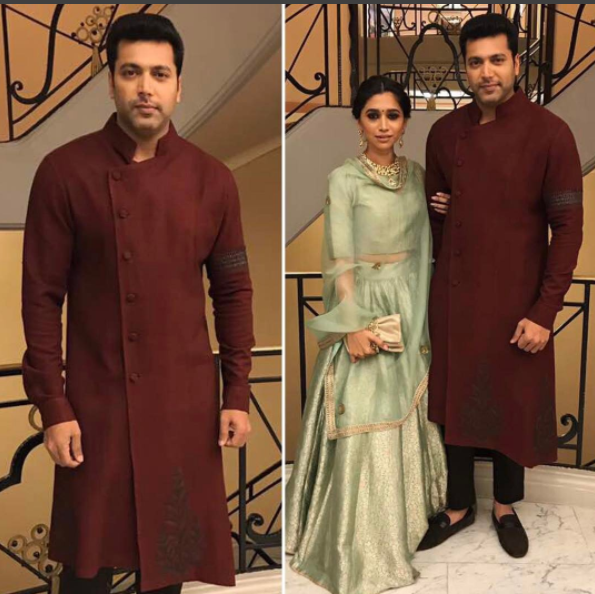 Cannes 2017: Jayam Ravi and his wife Aarti dazzle at the film festival