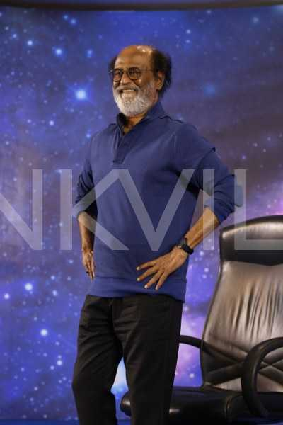 Super Star Rajinikanth meets his fans