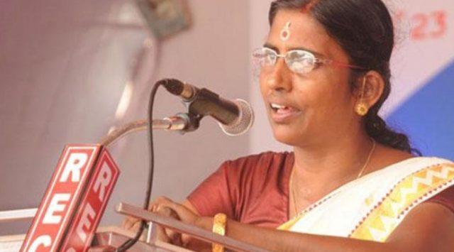 Kerala Hindu Aikya Vedi President KP Sasikala