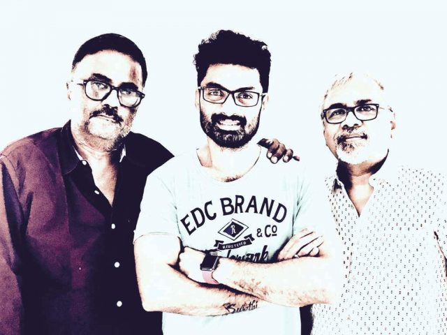 Nandamuri Kalyanram with PC Sreeram and Jayendra