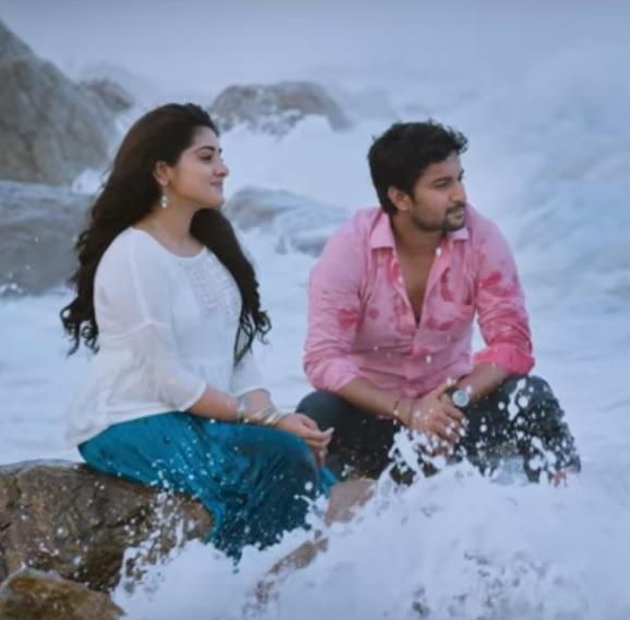 Nani's Ninnu Kori song teaser is intriguingly romantic