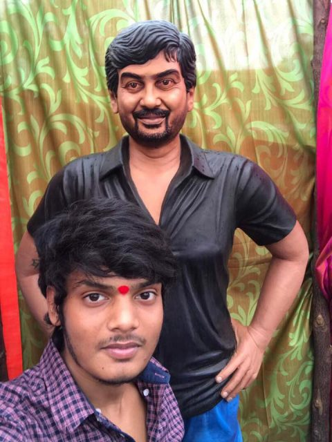 Statue built on Puri Jagannadh