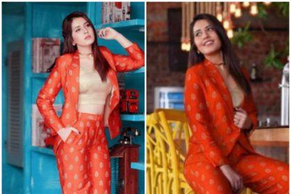 Raashi Khanna in Mint Blush Designs