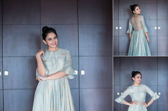 Rakul Preet in I AM DESIGN by Prateek & Priyanka and Shubashini