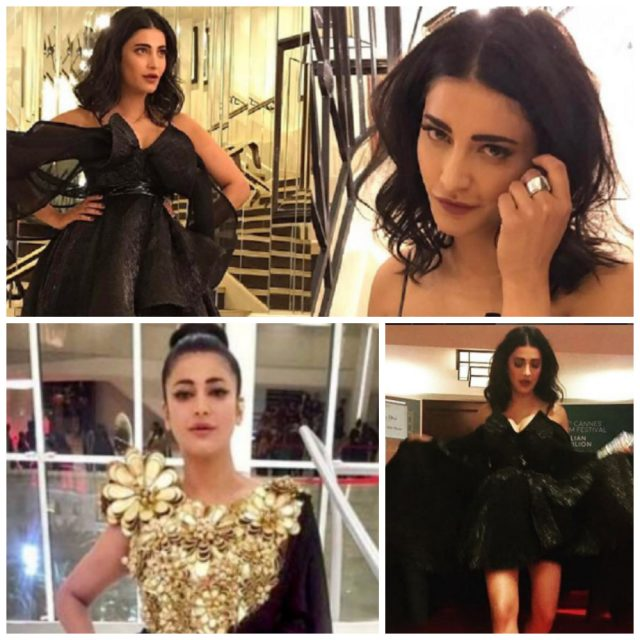 Shruti Haasan at the Cannes 2017