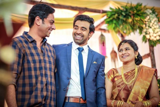 Premam actor Siju Wilson ties the knot; Celebs from the industry attend the grand reception